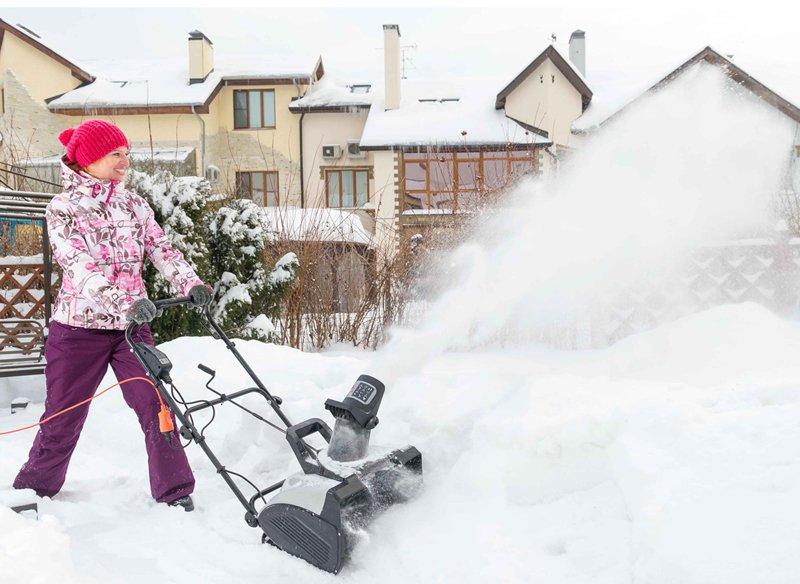 Электрическая снегоуборочная своими руками