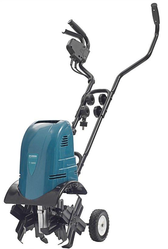 культиватор электрический с hyundai t1500e